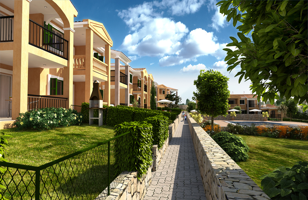 Residencial Cala Anguila, is a new residential complex developed by Taylor Wimpey on one of the last remaining developments with direct access to the beach in Majorca.