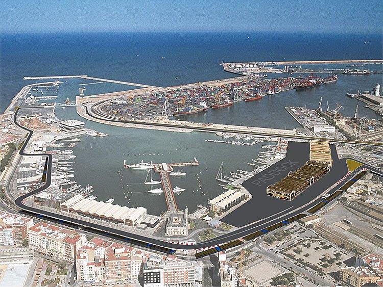 Valencia Formel 1
