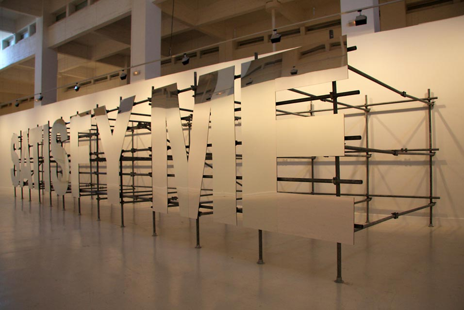The Centro de Arte Contemporáneo de Málaga presents the first exhibition in Spain of Monica Bonvicini 2