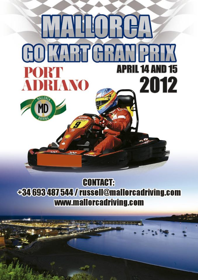 Mallorca's first Go Kart Grand Prix