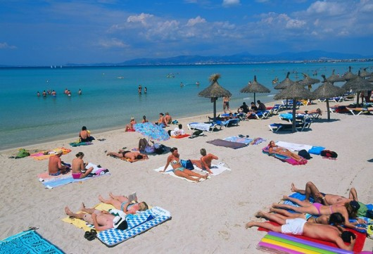 British population grows in Mallorca